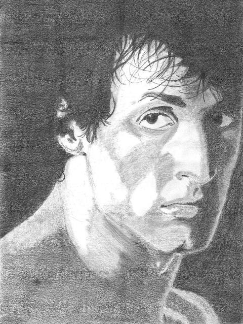 Sylvester Stallone by grendelmarco